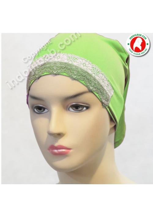 Ciput Arab Renda Hijau 001