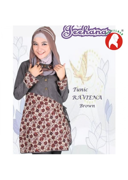 Tunik Raviena Brown