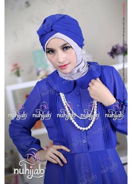 Sifon Dress Jameela Royal Blue