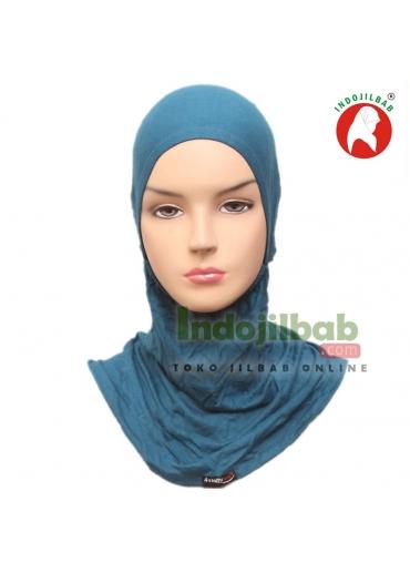 Ciput Ninja Kaos Resleting Biru Tosca 001