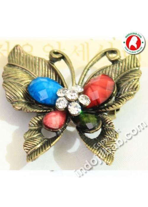 Bros Butterfly 2 Coklat 001