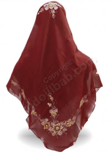 Rayna Lukis Bunga Merah 003