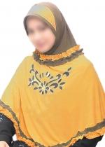 Nida Rania Kuning Kunyit - Coklat