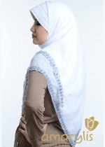 Hip Series Renda Putih