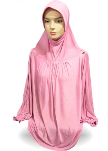 Jilbab Lengan Pink 001