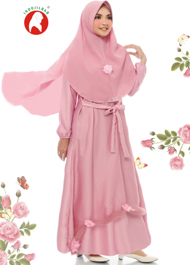 Set Gaun 07 Pink (PO)