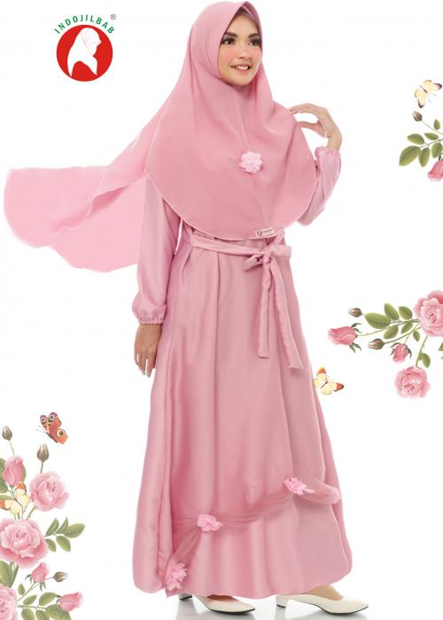 Set Gaun 06 Pink (PO)