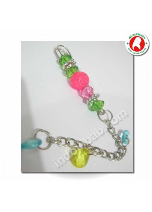 Peniti Jilbab Glitter Pink 001