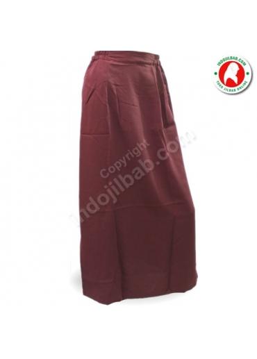 Rok Polos Merah 001
